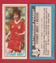 Nottingham Forest Stuart Gray 81